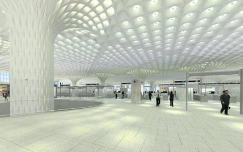 Superior Huntingdon Composite's glass fiber reinforced gypsum used in airport structures